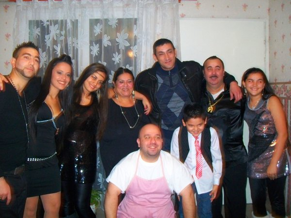 moi et ma famille pour le jour de l 'an 2012