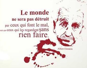 Citations d'Einstein !