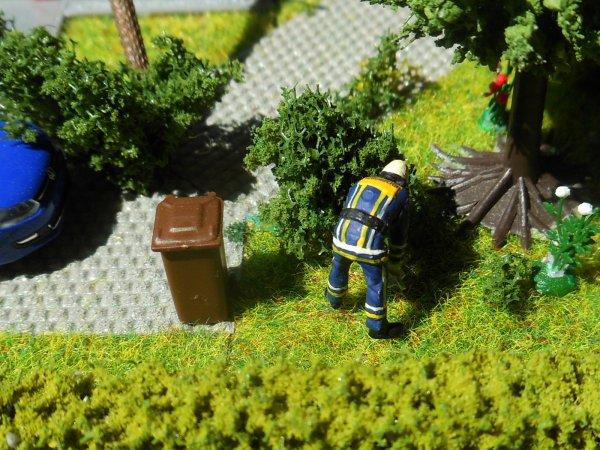 Un arbre tombe sur une maison ( partie 1/3 )