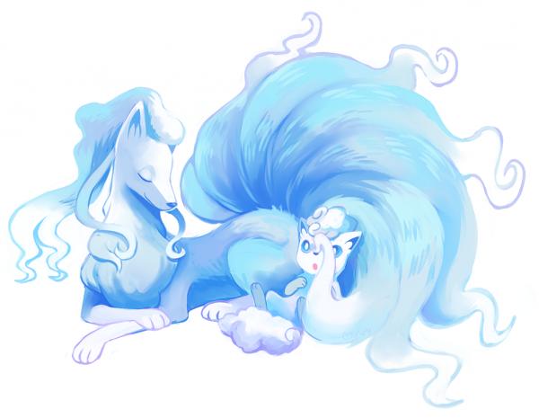 Pokémon Soleil & Lune : Feunard & Goupix