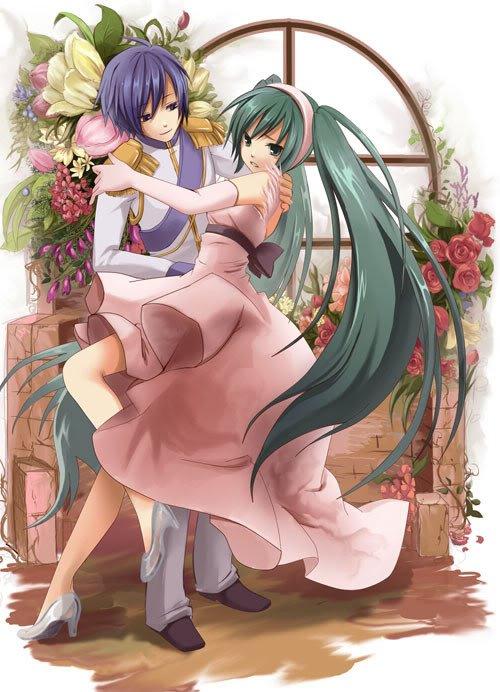 Hatsune Miku & KAITO - Cendrillon