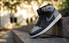 jordan 1 grey black