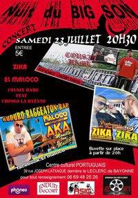 CONCERT COUSIN HAME featCHPOLO LA YENNE avec DJ ALF   / ZIKA ET EL MALOCO DJ YOSSI