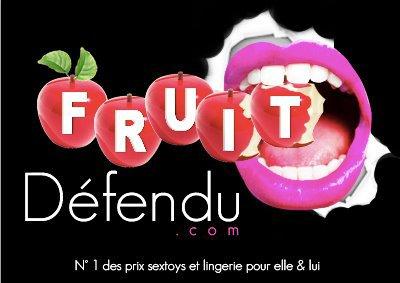 fruit defendu sextoy et lingerie