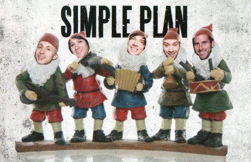 Happy Holidays & new year from Simple Plan