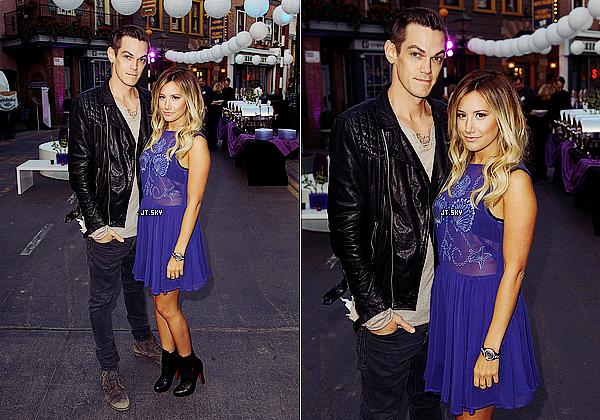 """Le 26 Juillet: Ashley arrivant sur le tapis rouge au """"The Hub Network's 2013 Summer TCA"""" à Universal City."""