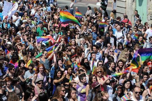 """Paris: une marche LGBT pour """"continuer à avancer"""" sur la PMA"""