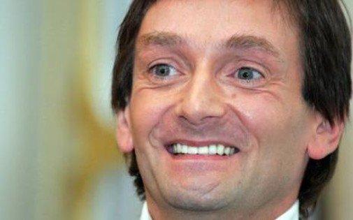 """Pierre Palmade sur scène dans """"Le fils du comique"""""""