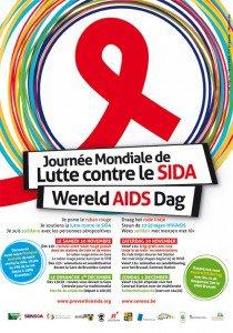 Bruxelles - Programme de la journée contre le sida du 30 novembre et 1er décembre 2013