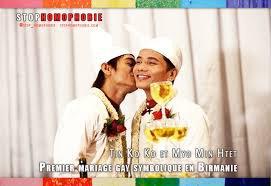 Un mariage homosexuel sous haute tension en Birmanie