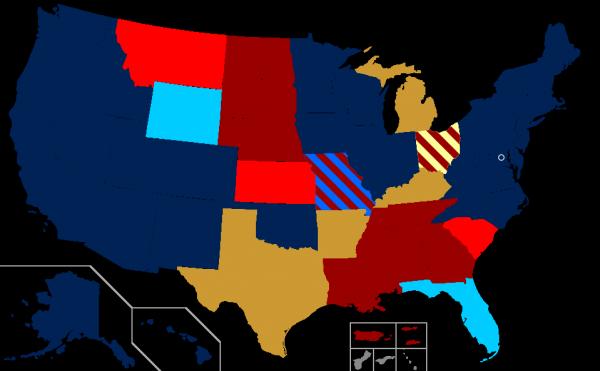 USA: mariage homosexuel dans 26 Etats