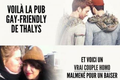 Un agent de Thalys mis à pied pour avoir interdit un baiser entre deux femmes