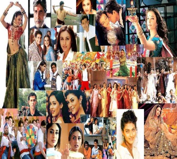 Les dvd Bollywood que j'ai et que j'ai vue pour l'instant