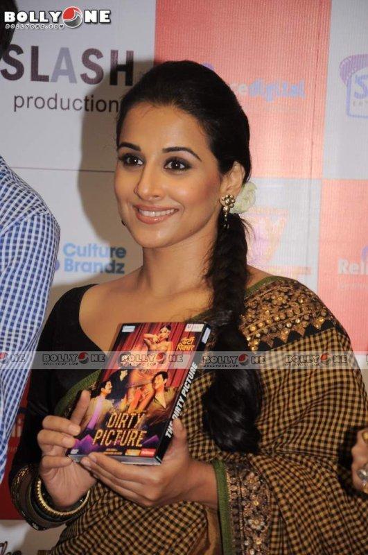 Vidya Balan at Dirty Picture DVD Launch