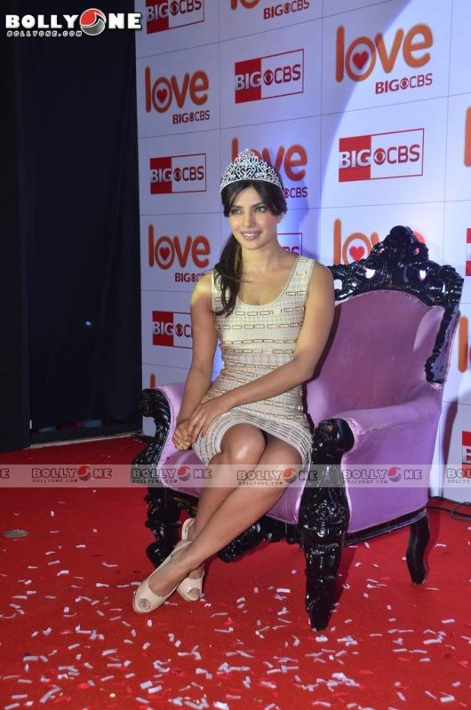 Indian Glam Diva Priyanka Chopra at CBS Love Show