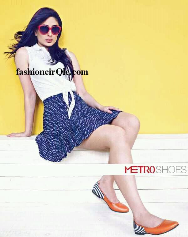 Kareena Kapoor pour Metro Shoes