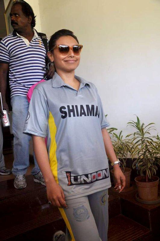 Salman & Rani at 'Junnon' charity match