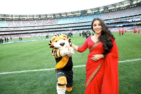 Vidya Balan at Melbourne Cricket Ground