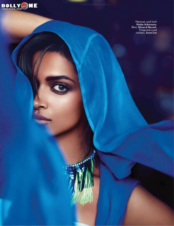 Deepika Padukone Sizzles on Vogue Magazine June 2012 Cover