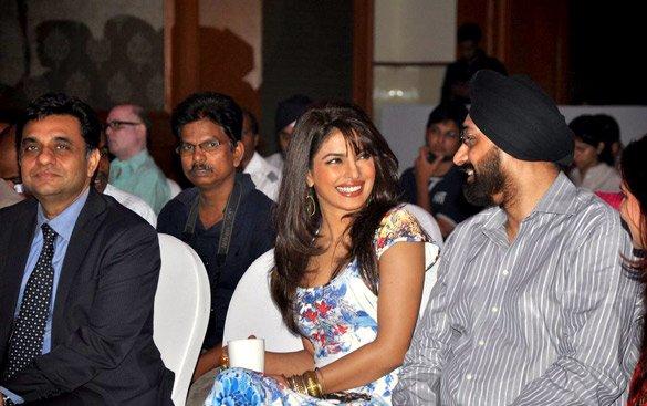 Priyanka Chopra unveils DDB technology