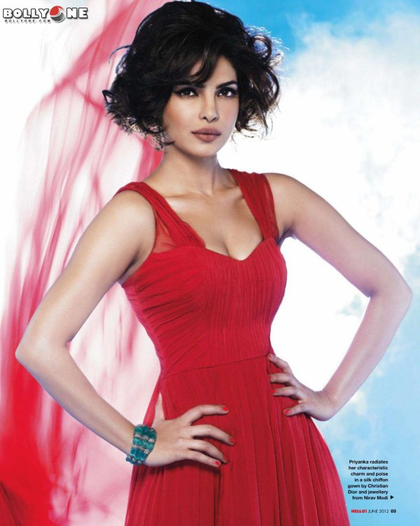 Priyanka Chopra HELLO Magazine June 2012 HQ Pictures