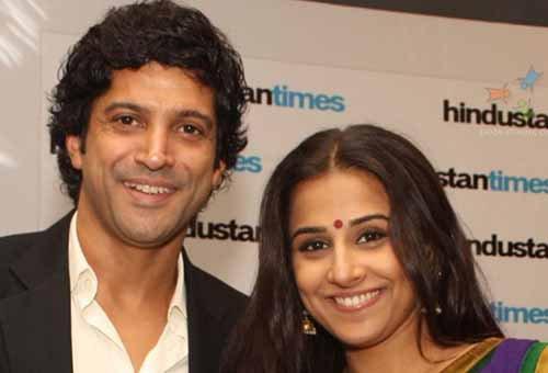 Vidya et Farhan dans une comédie romantique