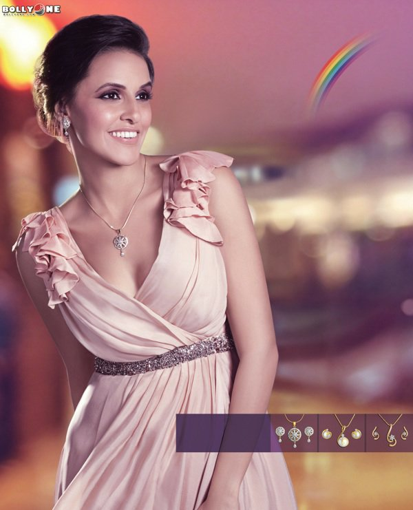 Neha Dupia New HQ Poster for Gitanjali Divas Jewellery