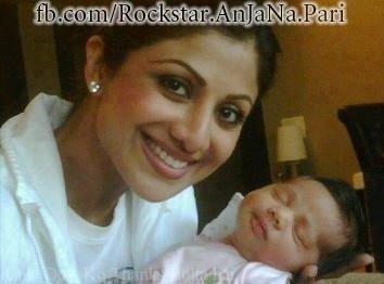 shilpa shetty et son enfant
