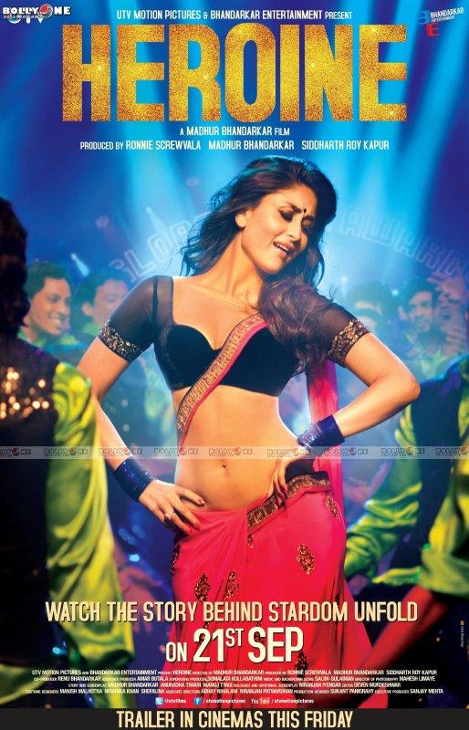 Kareena Kapoor Heroine Movie HQ Posters + video trailer