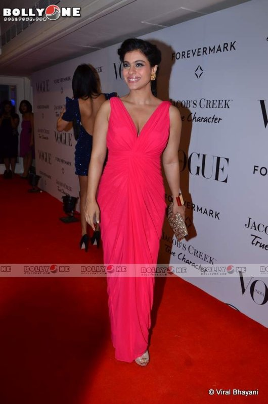 Kajol,  at Vogue India's 5th Anniversary Bash