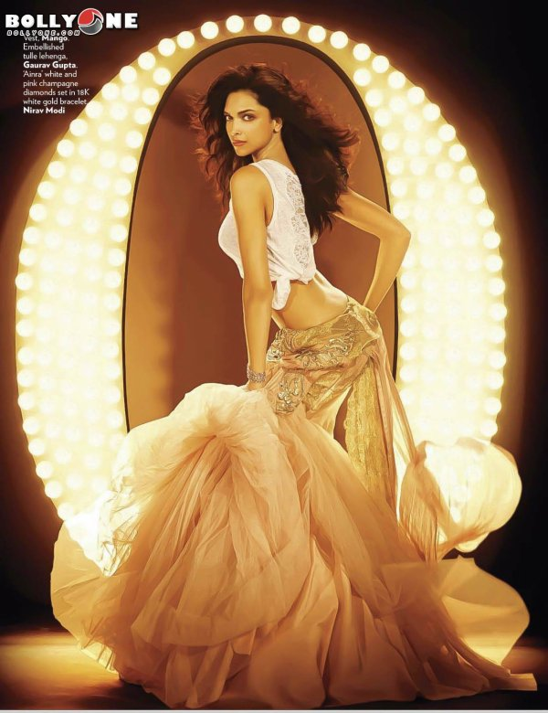 Deepika Padukone Vogue Magazine October 2012 HQ Pictures