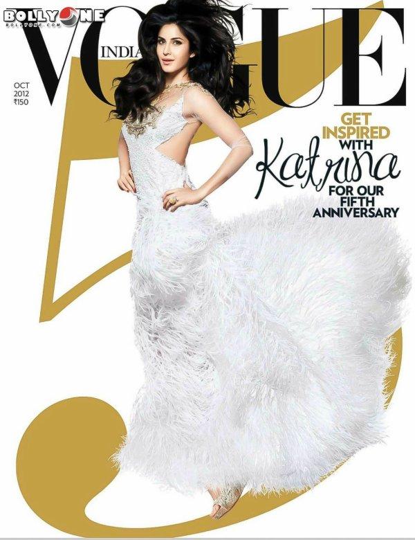 Katrina Kaif Vogue Magazine October 2012 HQ Pictures