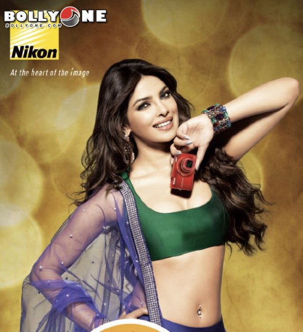 Priyanka Chopra Nikon Camera Print Advertisement Posters