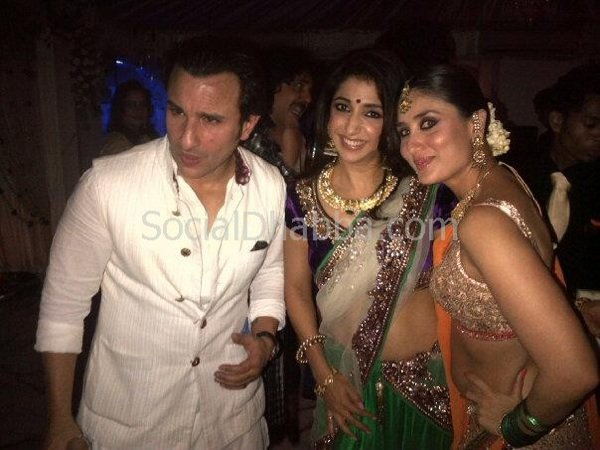 Celebs grace Kareena Kapoor and Saif Ali Khan sangeet ceremony