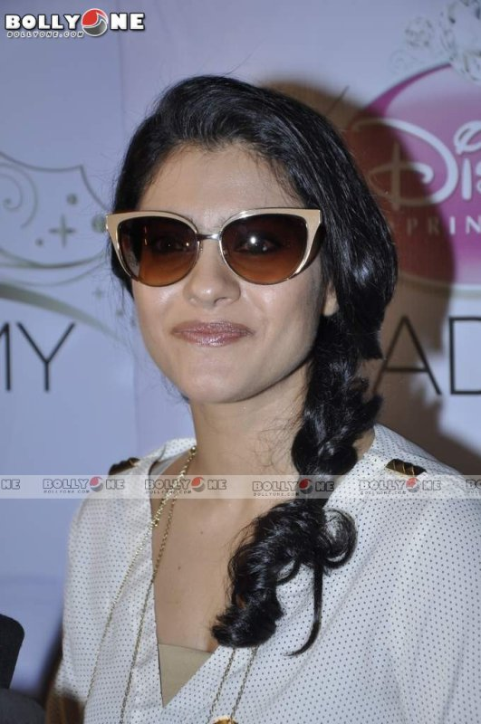 Kajol at Disney India's Princes Academy in Mumbai.