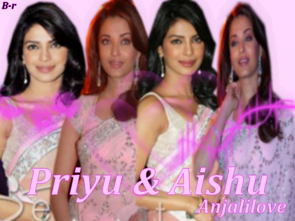 Montage de Priyanka et Aishwarya  fait par bolly-rani