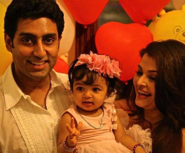 Abhi,Aish et leur fille