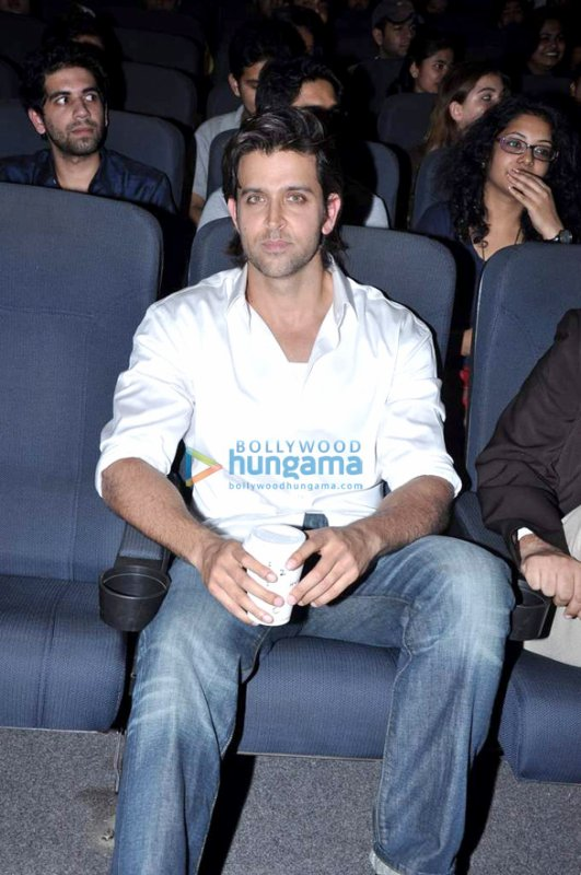 Hrithik snapped at Whistling Woods