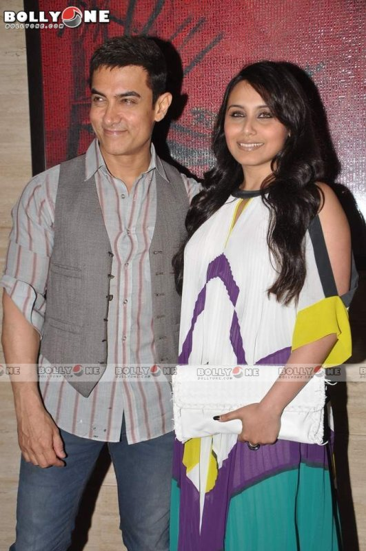 Kareena Kapoor, Aamir Khan, Rani at Talaash success bash