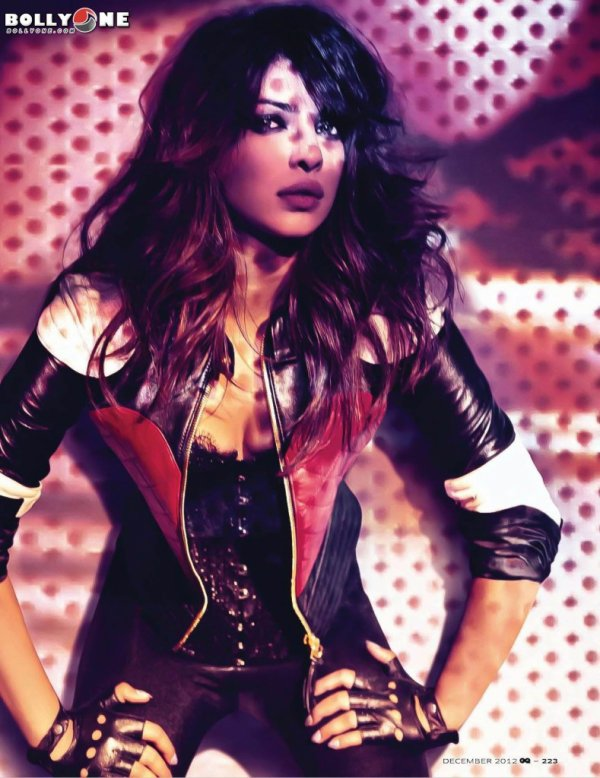 Priyanka Chopra GQ India Magazine December 2012 HQ Pictures – Full Set
