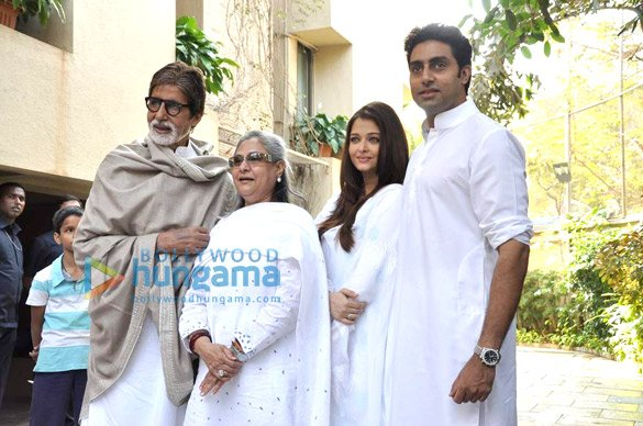 Bachchans pledge their support towards the girl child through Plan India