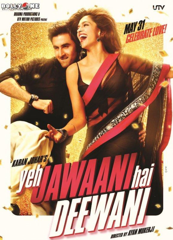 Yeh Jawaani Hai Deewani Movie HQ Posters – Deepika Padukone, Ranbir Kapoor