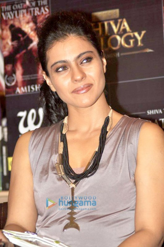 Kajol at the book launch of'The Oath Of Vayuputras 'by Amish