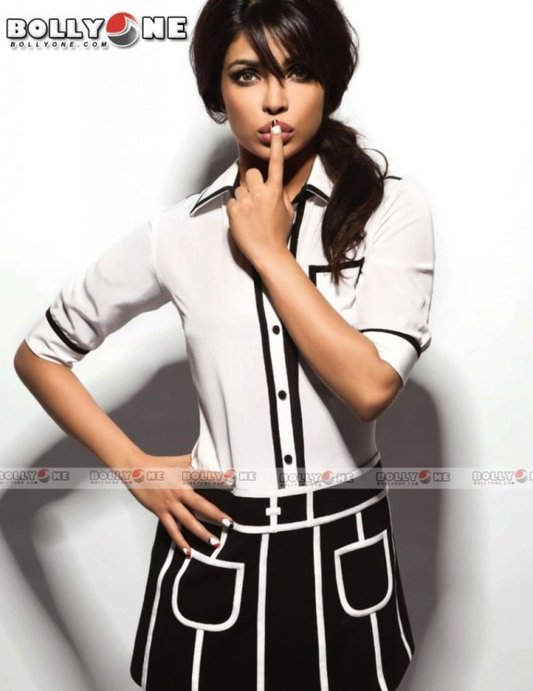 Priyanka Chopra Vogue Magazine March 2013 HQ Pictures
