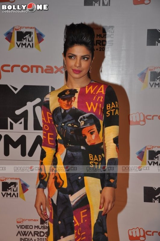 Priyanka Chopra At MTV Video Music Awards 2013