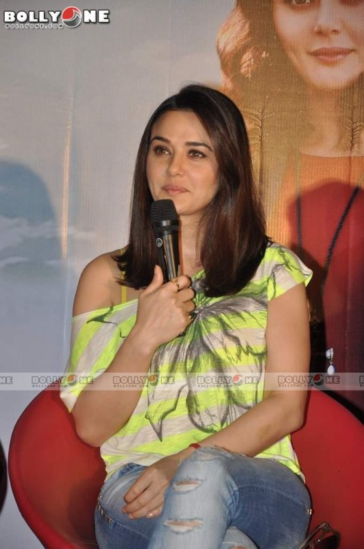 Preity Zinta At Ishkq In Paris Press Meet