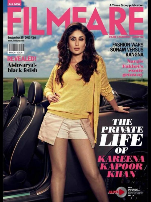 Kareena Kapoor Khan Filmfare Magazine September 2013 Pictures – Full Set