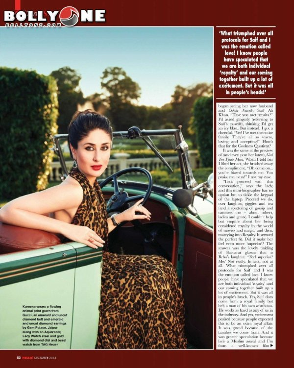 Kareena Kapoor Khan Hello India Magazine December 2013 HQ Pictures