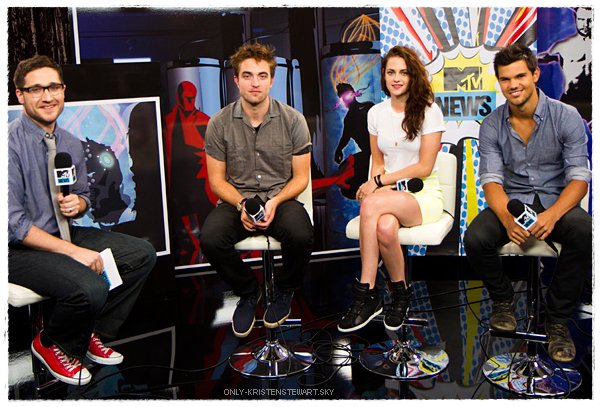 12.07.2012 : Comic Con (Breaking Dawn - Part 2) à San Diego :
