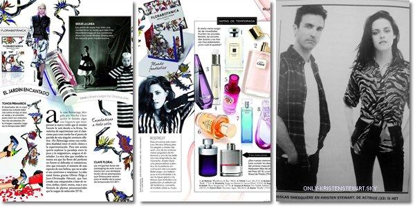 Nouvelles photos  de Kristen dans (Vogue et ELLE - Espagne) pour Balenciaga :